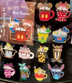 Happy Holiday Hot Cocoa Mystery Pin Collection - Disney Pins Blog