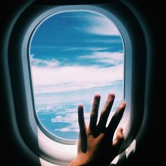 i am obsessed with flying, and traveling in general. so exciting!