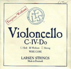 Larsen Cello C Tungsten Wirecore, CCTW by Larsen. $112.00. Strings and Music Accessories by Juststrings.com
