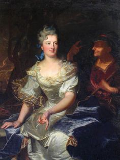 1702 Portrait de Marie-Anne Varice de La Ravoye, née de Vallières by Hyacinthe Rigaud (private collection) | Grand Ladies | gogm