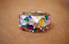 Chromatic Arm Candy | DIY | by Darby Smart | #fashion #jewelmint