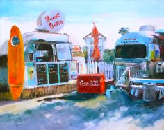 """""""Early Morning"""" 8x10-Quincy Ave. Art & Things-Seaside, Fl"""