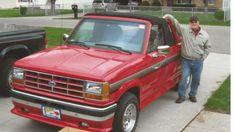 SkyRanger with Miles: 1991 Ford Ranger Best Barns, 500 Miles, Dodge Dakota, Barn Finds, Ford Ranger, Ford Trucks, Cars, Usa, Autos