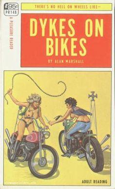 Scantily-clad women on Harleys with whips and switchblades.  A smorgasbord of smut!