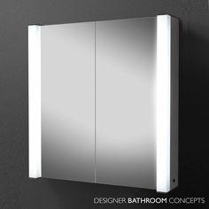 The Photo Designer Illuminated Bathroom Cabinet Is A High Quality Mirror Door