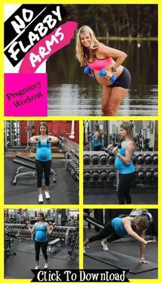 20 Front Raises, 20 Hammer Cursl, 20 Arm Raises and 20 Bicep Curls. Great pregnancy workout to not end up with flabby arms after pregnancy. Try 3 sets. More pregnancy workouts that are safe for every trimester here. Pregnancy Leg Workouts, Pregnancy Signs, Pregnancy Health, After Pregnancy, Fit Pregnancy, Pregnancy Fitness, Arm And Leg Workout, Prenatal Workout, Mommy Workout