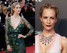 Poppy Delevingne in Chopard jewels at Cannes 2015