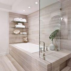 Marmor  Und Sandsteinfliesen Im Badezimmer.... An Der Badewanne Und Die  Wand In Der Dusche | My Apartment Idea | Pinterest | Modern Baths,  Apartment Ideas ...