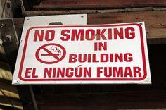 No. No. No. Así no. | Los 20 carteles peor traducidos de la historia