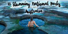 16 Stunning National Parks in Australia to Visit :http://www.adventuresnsunsets.com/16-stunning-national-parks-in-australia/