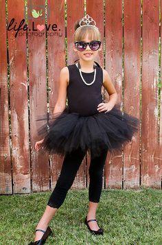 Audrey Hepburn tutu costume by Sweetthingskids on Etsy, $42.00