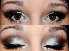 another awesomesauceness silver/black for dark brown eyes