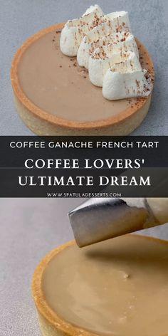 French Desserts, Mini Desserts, Just Desserts, Delicious Desserts, Dessert Recipes, Easy Tart Recipes, Pastry Recipes, Sweet Recipes, Baking Recipes