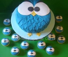 Would make a great Angry Birds cake!