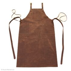 Leather machinist apron by Falcon Motorcycles @FalconMC