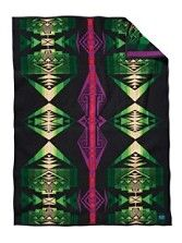 Standing Pine Throw #Native Inspired