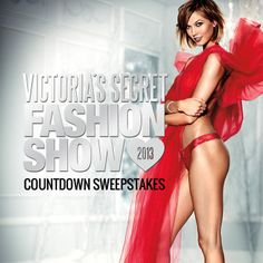 Play the VS Fashion Show Countdown instant-win sweeps! 100+ prizes daily + share 4 more chances to win a trip to NYC! No purch. nec. 18+. http://vsallaccess.victoriassecret.com/fashionshow/sweeps/?referrer=Y2JlbGxmc3JAeWFob28uY29t