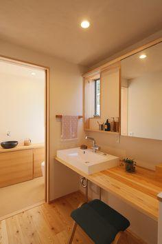 写真06|Y様邸/プレジール/トラッド(H29.2.21更新) Home Design Diy, Modern Interior Design, Interior Architecture, House Design, Powder Room Design, Natural Interior, Cute House, Wet Rooms, Home And Deco