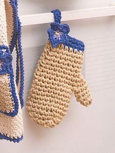 Oven Mitt   Yarn   Free   Crochet Patterns   Yarnspirations