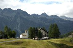 Val Fex, Switzerland... The church my parents married in... and where yours truly was baptized.