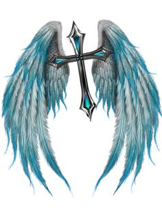 "from Faith Knights  Takashima's symbol ""The Winged Cross"""