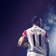 Ryan Giggs, Manchester United FC.