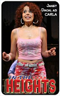Carla Hispanic American, Washington Heights, Manhattan Nyc, Lin Manuel Miranda, Musical Theatre, In The Heights, The Neighbourhood, Musicals, Celebrities