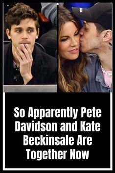 So Apparently Pete Davidson and Kate Beckinsale Are Together Now Awesome Wow, Family Relations, Funny Comedy, The Hard Way, Kate Beckinsale, Weird World, Wtf Funny, Family Kids, Weird Facts