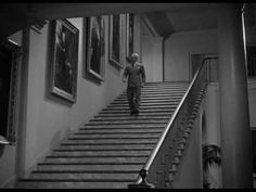 "From ""Yankee Doodle Dandy"", this scene of James Cagney dancing down the steps in the White House (after meeting with President Roosevelt) was ad-libbed by Cagney. It was NOT in the script."