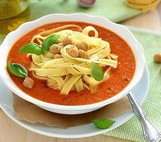 Zupa krem z ciecierzycy Thai Red Curry, Vegan, Ethnic Recipes, Food, Meal, Essen, Hoods, Meals, Eten