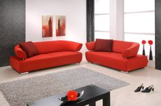 Eyecatcher - red sofa