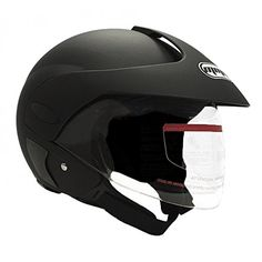 Motorcycle Scooter Street Open Face Helmet DOT - Flip Up Shield - Matte Black (Large) 203. For product info go to:  https://www.caraccessoriesonlinemarket.com/motorcycle-scooter-street-open-face-helmet-dot-flip-up-shield-matte-black-large-203/
