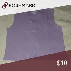 Bedford Fair Sweater vest purple Bedford Fair  Jackets & Coats Vests