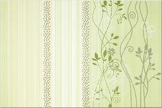 Faianta Model Floral Verde clasica, din colectia Calipso de la Opoczno Model de faianta decorativa cu flori verzi pentru bai cu aspect natural. Vezi Pret Curtains, Shower, Modern, Prints, Home Decor, Calypso Music, Rain Shower Heads, Blinds, Trendy Tree