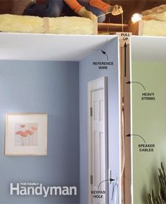 in wall and ceiling speaker placement and installation home rh pinterest com