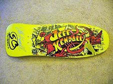 d21fe9c8268931 For  125.00 is an awesome Jeff Kendall Santa Cruz Signed Rare Limited  Skateboard!
