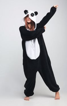 FREE SHIPPING New 2013 Panda Kigurumi Adult by KawaiiCheckout, $49.99