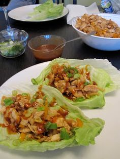 Paleo Girl's Kitchen: Asian Lettuce Wraps