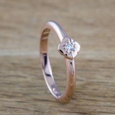 Hey, I found this really awesome Etsy listing at https://www.etsy.com/listing/180043911/petite-lotus-flower-ring-14kt-rose-gold