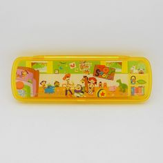 Disney Toy Story painter series transparent yellow plastic pencil box (Japan)  全新迪士尼(Disney)反斗奇兵(Toy Story)畫家系列透明黃色膠筆盒 (原裝日本進口)(包郵)  http://www.ebay.com/itm/Disney-Toy-Story-painter-series-transparent-yellow-plastic-pencil-box-Japan-/300846266543?pt=TV_Movie_Character_Toys_US=item460bd5b8af  http://hk.f1.page.auctions.yahoo.com/hk/auction/1133445675