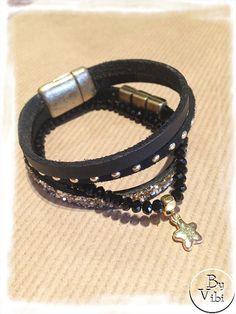 Bracelets rock cuir et cristal https://www.etsy.com/fr/shop/ByVibi?ref=hdr_shop_menu