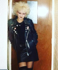 Growing up at a time when there was no internet or digital cameras meant it was a challenge to document our scenes with quality photos! 80s Goth, 80s Punk, Vinyl Clothing, Clothing Items, Punk Outfits, Cool Outfits, Punk Rock Girls, Goth Girls, Punk Subculture
