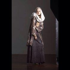 NurZahra AW2014 - Shibori batik blazer USD 450. Skirt batik USD 350. & scarf USD 200. natural dyes