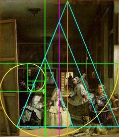 proporcion aurea pintura - Buscar con Google Fibonacci Spiral, Fibonacci Golden Ratio, Rule Of Thirds, Classical Art, Art Tips, Diego Velazquez, Divine Proportion, Arts Ed, Sacred Geometry