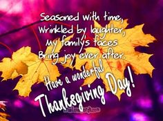 50 Happy Thanksgiving Wishes For Friends And Family » True Love Words