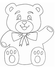 Print Bears Animals Coloring Pages coloring page & book. Your own Bears Animals Coloring Pages printable coloring page. With over 4000 coloring pages including Bears Animals Coloring Pages . Teddy Bear Coloring Pages, Pattern Coloring Pages, Disney Coloring Pages, Animal Coloring Pages, Free Coloring Pages, Coloring Books, Printable Coloring, Quilt Baby, Baby Girl Quilts