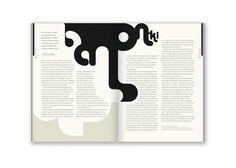 Editorial Design: Bluszcz Magazine by Joanna Tyborowska, via Behance