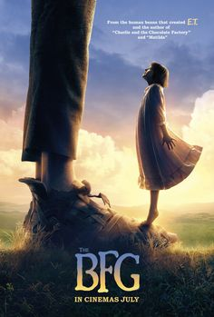 Spielberg's THE BFG Gets Its First Poster http://www.themoviewaffler.com/2016/01/spielbergs-bfg-gets-its-first-poster.html