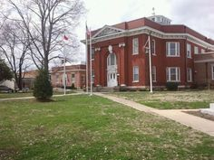 Warren County Court House.  Warrenton, North Carolina.