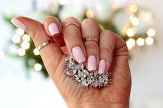 Kosmetyczna Hedonistka Blog: Beauty | Lifestyle: PASTELOWY, MLECZNY RÓŻ CZYLI ŚLUBNY MANICURE SEMILAC 032 BISCUIT.